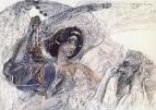 Шестикрылый серафим. 1905.