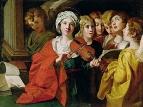 Святая Цецилия с хором