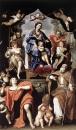 Мадонна с младенцем и св Петроний и Иоанн евангелист