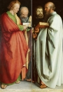 Четыре апостола - Иоанн Богослов и Петр, Марк и Павел
