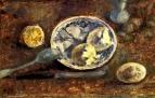 Натюрморт с лимоном и яйцом
