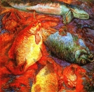 Рыбы при закате
