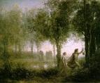 Орфей, ведущий Эвридику из преисподней