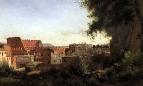 Вид Колизея от садов Фарнезе