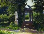 Ротонда Миловида в Найденовском парке. Москва. 1920-е