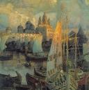 Варяжские корабли в Великом Новгороде. 1902
