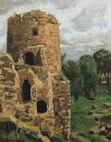 Гремячая башня. Псков. 1908