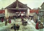 Воскресенский мост в XVII веке. 1921