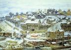 Московский Кремль при Иване Калите. 1921
