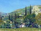 Крымский пейзаж. 1890