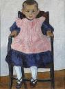 Девочка в креслице