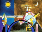 Великие киевские ворота. Декорация к сюите М.П.Мусоргского