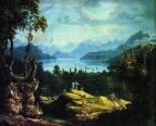Пейзаж в Швейцарии