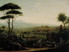 Вид в окрестностях Тиволи. 1819 год