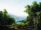 Водопад в Тиволи близ Рима