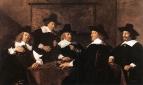 Групповой портрет регентов приюта св. Елизаветы в Гарлеме