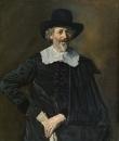 Портрет мужчины с перчаткой в руке