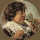 Пьющий мальчик. Аллегория вкуса