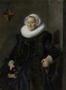 Портрет Марит Вохт, жены Питера Оликана, бургомистра Гарлема