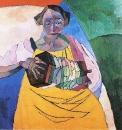 Женщина с гармоникой