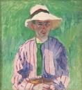 Портрет молодого человека в панаме