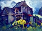 Сельский домик. Село Зюзино