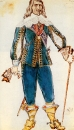 Граф Манчестер. Эскиз костюма