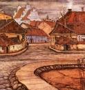 Улица Тилто в старом Вильно