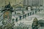 Добужинский Мстислав :: Из жизни Петрограда в 1920 году