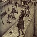 Иллюстрация к роману Ф.М.Достоевского «Преступление и наказание».