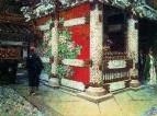 Шинтоистский храм в Никко. Около 1904