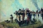 Наполеон I на Бородинских высотах. 1897