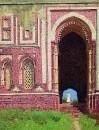 Ворота около Кутуб-Минара. Старый Дели. 1875