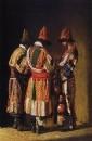 Дервиши в праздничных нарядах. Ташкент. 1869-1870