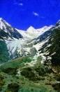 Ледник по дороге из Кашмира в Ладакх. 1875