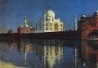 Мавзолей Тадж-Махал в Агре. 1874-1876