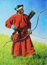 Бухарский солдат (сарбаз). 1873