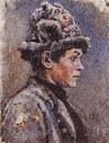 Задумавшийся подросток. 1885