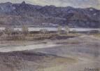 Горы близ Красноярска. 1909