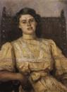 Портрет Е.Н.Сабашниковой. 1907