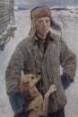 Портрет художника Николая Пластова