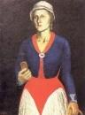 Портрет жены художника. 1934