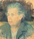 Портрет матери. Около 1932