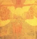 Эскиз фресковой живописи. Торжество неба. 1907