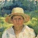 Голова мальчика в шляпе. Начало 1930-х