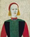Голова современной девушки. 1932