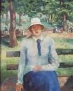 Девушка без службы. Около 1930