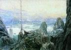 Фиорды. Эскиз декорации к драме Г. Ибсена Дочь моря. 1905