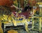 Портрет артиста Федора Ивановича Шаляпина в роли Олоферна в опере А.Н.Серова Юдифь. 1908