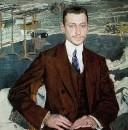 Портрет графа Владимира Ивановича Канкрина, служащего петербургской конторы Императорских театров. 1